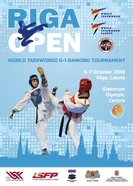 Riga Open 2018 Poster
